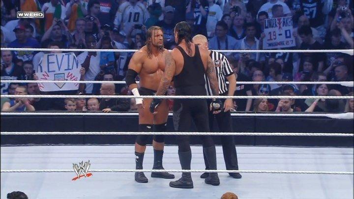 WWE - Triple H vs Undertaker Highlights - Wrestlemania 27 - [HD]