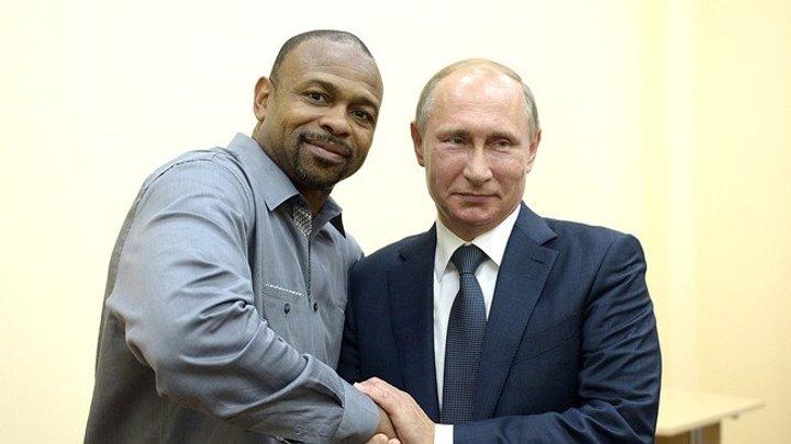 Легенда бокса Рой Джонс попросил у Владимира Путина российское гражданство.
