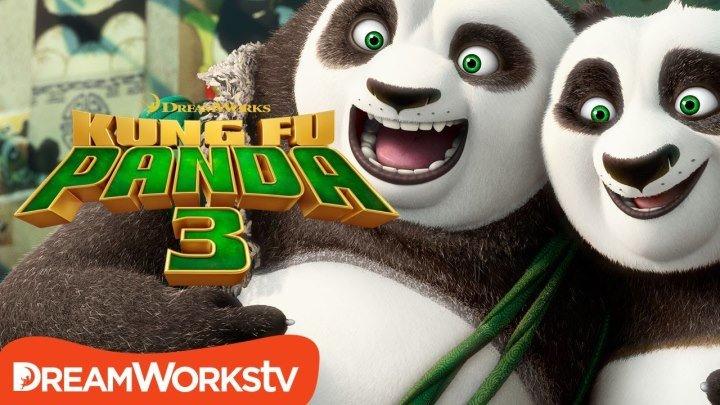 Кунг-фу Панда 3 - Русский трейлер 2015 [Видео группы Кино - Фильмы]
