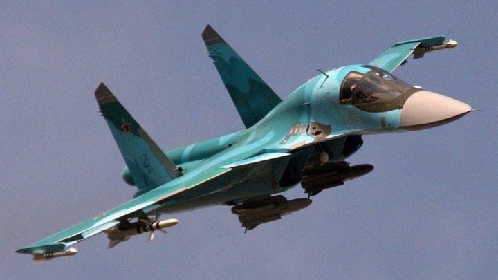 Су-34 Fullback — «Защитник» истребитель-бомбардировщик, фронтовой бомбардировщик