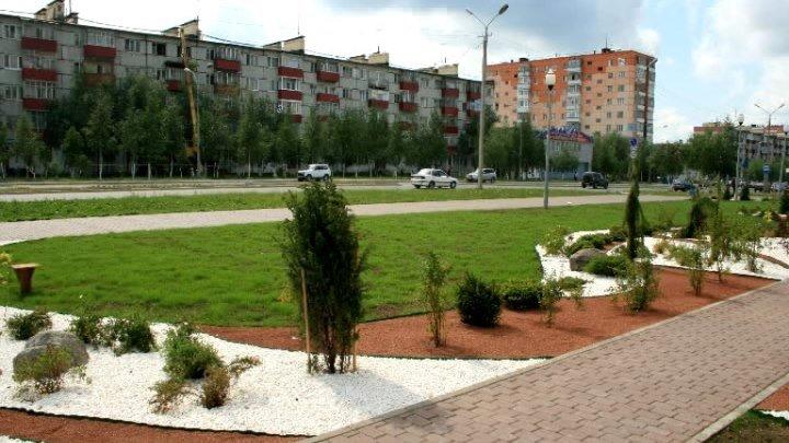 Усинск. Времена года