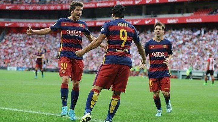 Атлетик 0:1 Барселона | Испанская Примера 2015/16 | 01-й тур | Обзор матча