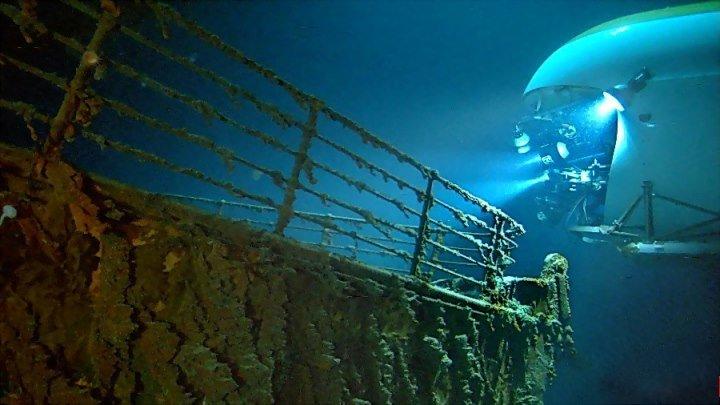 Призраки бездны: Титаник (HD1О8Ор) • Документальный \ 2ОО3г • Билл Пэкстон, Джеймс Кэмерон, Док. Джон Бродвотер, Док. Лори Джонстон, Чарльз Пеллегрино