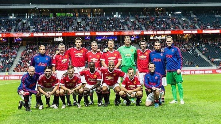 Обзор товарищеского матча: Легенды Манчестер Юнайтед 4:2 Легенды Ливерпуля