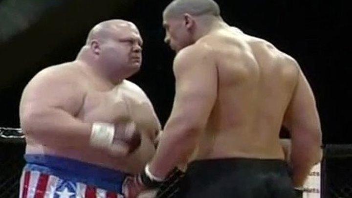 Эрик Баттербин vs. Джеймс Томпсон. Cage Rage 20 .