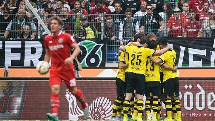 Бундеслига 4-тур, Ганновер 2-4 Боруссия Дортмунд (12.09.15)