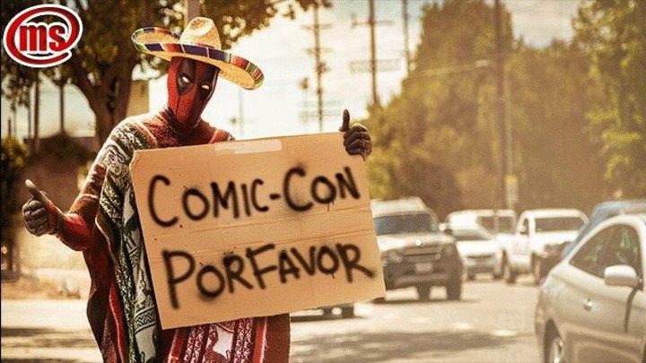 Дэдпул развлекается на Comic-Con