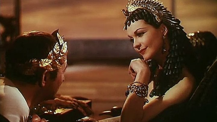 Цезарь и Клеопатра-(В ролях: Вивьен Ли)-(1ч.) / Caesar and Cleopatra (Габриель Паскаль /Gabriel Pascal) [1945 г., Исторический]