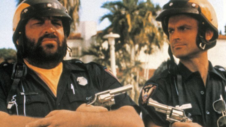 Супер полицейские Майами (комедия) 1985 Теренс Хилл и Бад Спенсер
