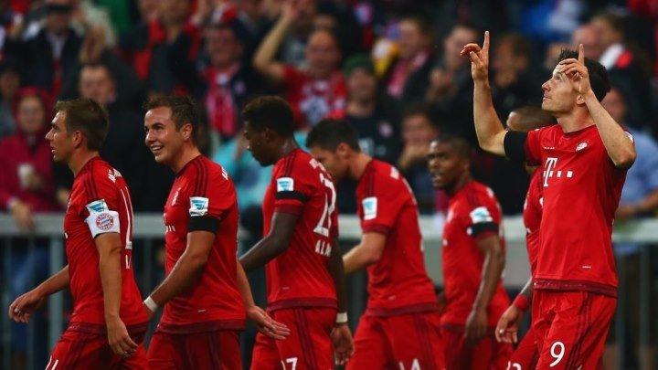 Бавария 5:1 Вольфсбург | Немецкая Бундеслига 2015/16 | 06-й тур | Обзор матча