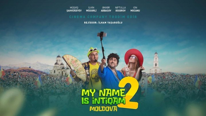 My name is Intiqam 2 — Moldova | Rəsmi Treyler