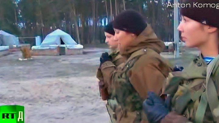 Военные женщины-солдаты