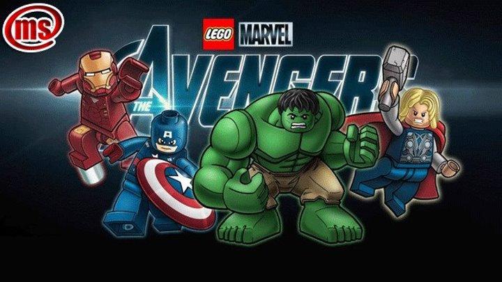 Новый трейлер игры LEGO Marvel's Avengers.