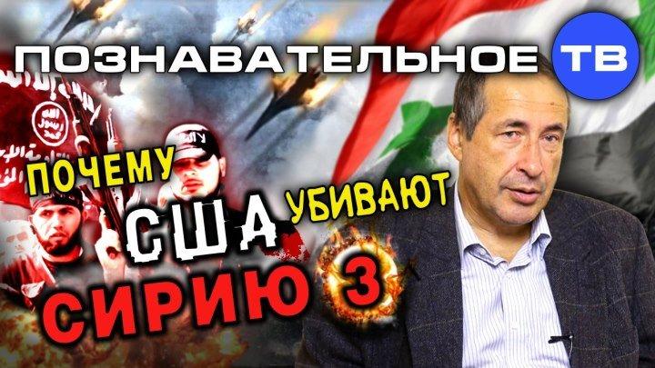 Почему США убивают Сирию 3 (Познавательное ТВ, Андрей Паршев)