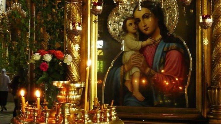 Молитва-песня БОГОРОДИЦЕ Заступнице Усердная - это воистину ангельское пение!