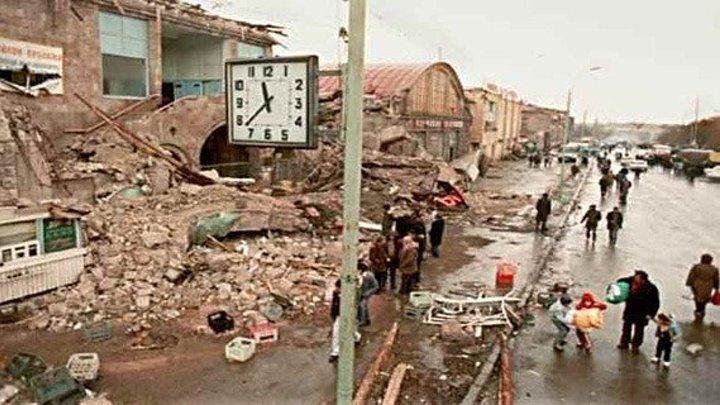 Армения, трагический декабрь 1988 года