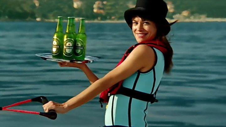 Heineken 007....забавная и СУПЕР - МЕГА - КЛАССНАЯ реклама пива!