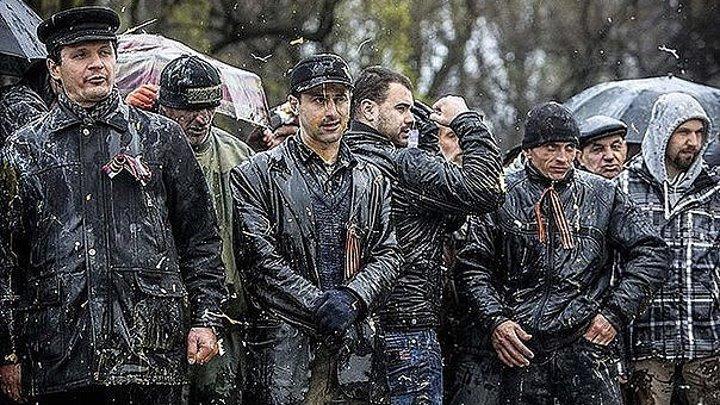 Как выстояли 300 Запорожцев против бандеровцев 13.04.2014 - Аллея Славы. Хроника Тезис ТВ