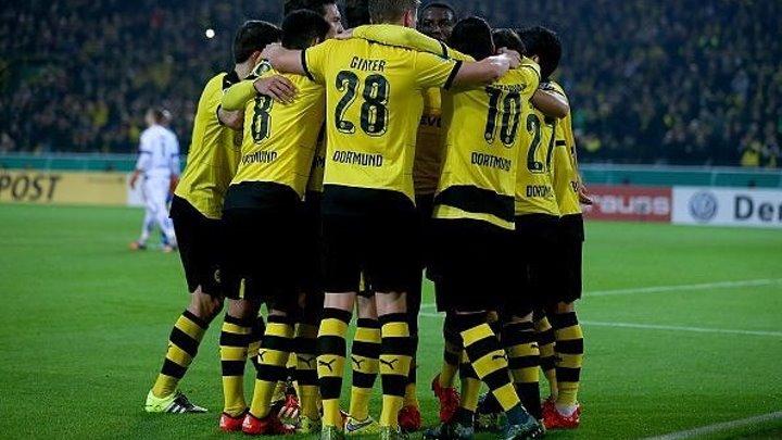 Кубок Германии 1/16 финала: «Боруссия» Дортмунд 7-1 «Падерборн» (28.10.15)