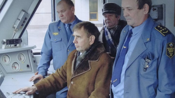 Случай на железной дороге. Загружено в ОК С С Неживым в 2015 году из YOU TUBE .г.Челябинск .