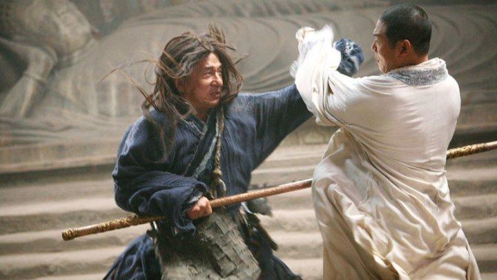 "Джеки Чан против Джета Ли. Фильм ""Запретное царство"""