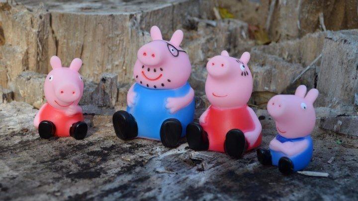 Peppa Pig свинка Пеппа и ее семья Мультфильм для детей. Волшебная осень