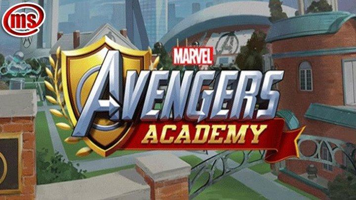 Marvel Мстители академия трейлер