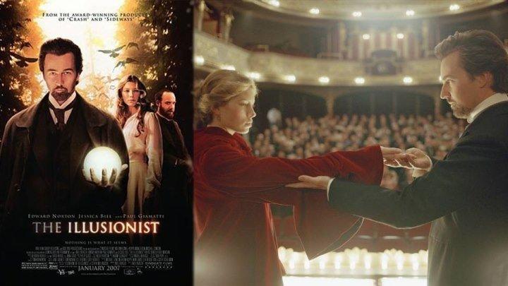 Иллюзионист - The Illusionist (1024x576p)[2006 США, Чехия, триллер, драма, мелодрама, детектив, BDRip-AVC] DUB (2.37Gb)