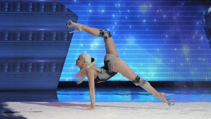 Ева Шиянова вызвала ажиотаж на шоу талантов в Грузии