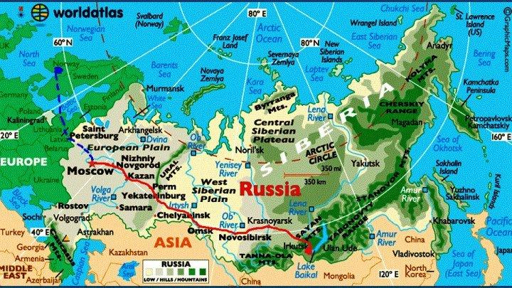 10 крупнейших городов России. / 10 largest cities of Russia