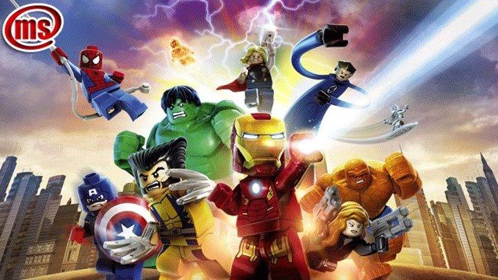 Альтрон незваные гости - Лего Марвел супер герои Мстители собраны! - Клип 1
