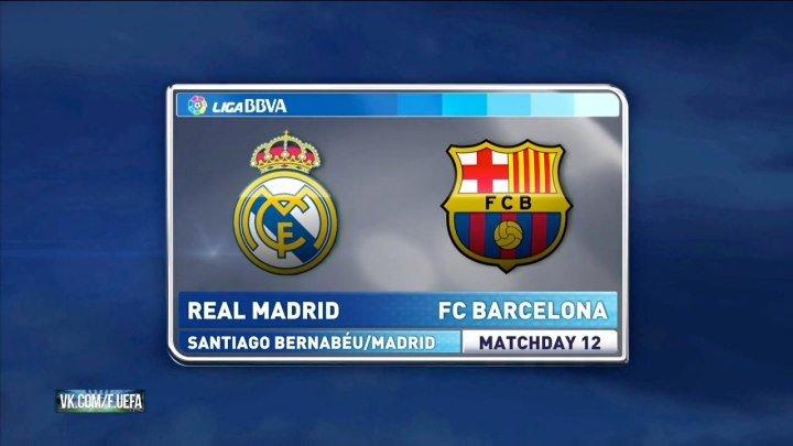 El Clasico 21/11/2015 Real Madrid vs Barcelona 12 тур La Liga 2015-16 Превью