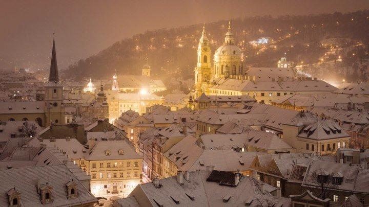 Прага Зимой. Орел и решка. А. Бедняков