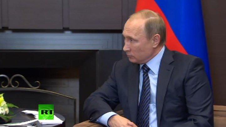 Путин в шоке от сбитого турецкими ВВС российского бомбардировщика СУ-24