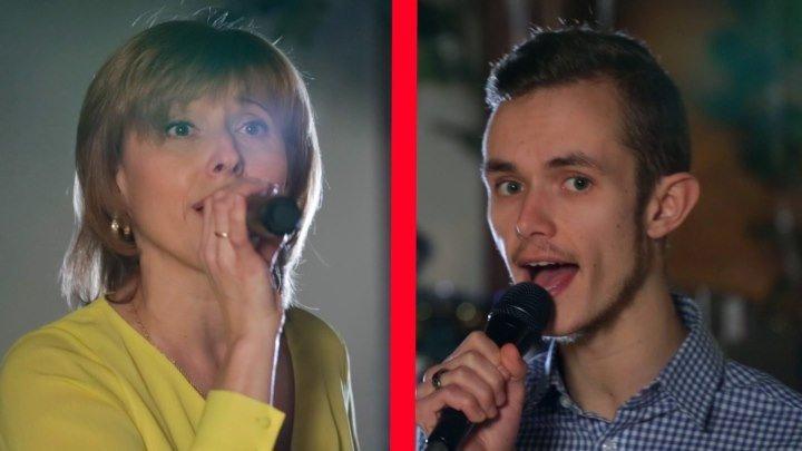 Красивая и странная пара:)