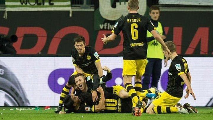 Бундеслига 15-тур, Вольфсбург 1-2 Боруссия Дортмунд (05.12.15)