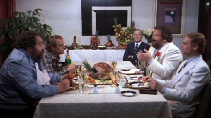 Сплошные неприятности [1984 г., комедия, приключения] Теренсс Хилл и Бад Спенсер