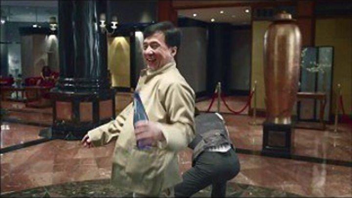 Реклама с Джеки Чаном. Escape