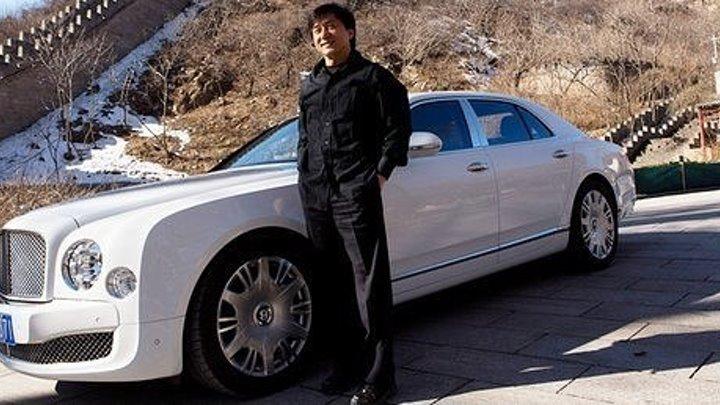 """Джеки Чан в рекламе автомобиля """"Bentley"""""""