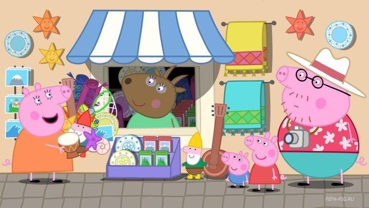 Cвинка Пеппа (Peppa Pig) на русском ВСЕ СЕРИИ ПОДРЯД, 4 сезон 1-46 серии
