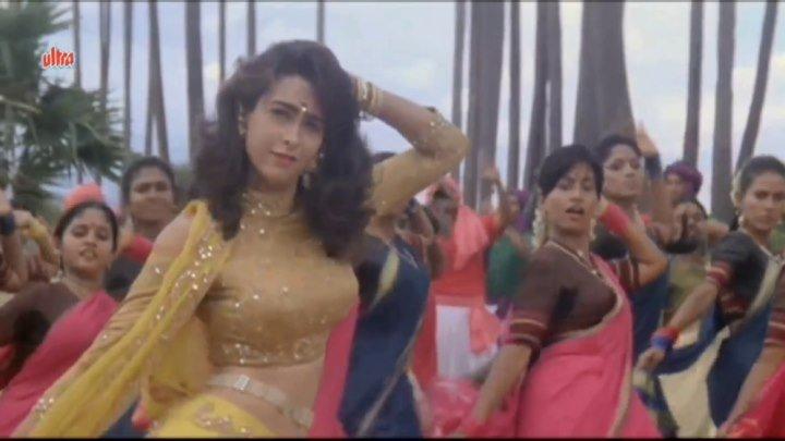 Индия.Раджа Бабу/1994г-Ui Amma Ui Amma Kya Karata Hai -Каришма Капур-Говинда