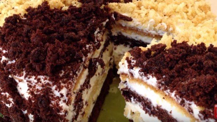 Сметанник - Очень Вкусный Рецепт (Сметанный Торт)