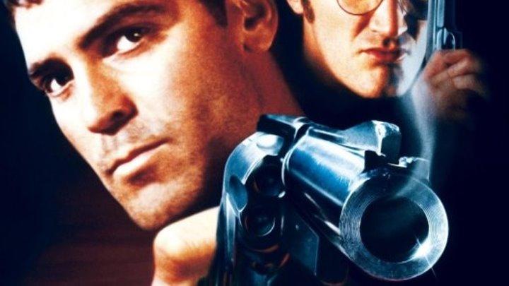 """""""От заката до рассвета"""" _ (1995) ужасы,боевик. HD 1080p"""