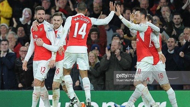 Арсенал 2-1 Манчестер Сити _ Чемпионат Англии 2015_16 _ Премьер Лига _ 17-й тур