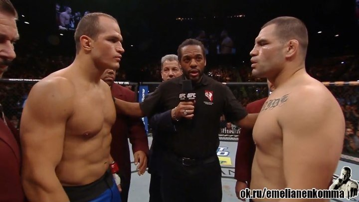 Джуниор Дос Сантос vs. Кейн Веласкес 2. UFC 155. 2012