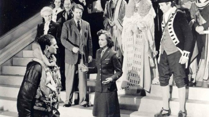 Лестница в небо_A Matter of Life and Death 1946 г на английском без субтитров. Жанр:фэнтези, драма, мелодрама, военный.Страна: Великобритания.