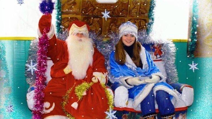 Резиденция Деда Мороза в Богучанах