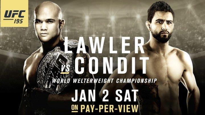 Обратный отсчет к UFC 195 Lawler vs Condit (русская озвучка )