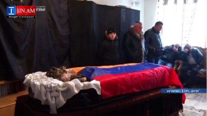Գավառում Սեյրան Օհանյանի մասնակցությամբ տեղի է ունեցել շարքային Արամայիս Ոսկանյանի հոգեհանգիստը