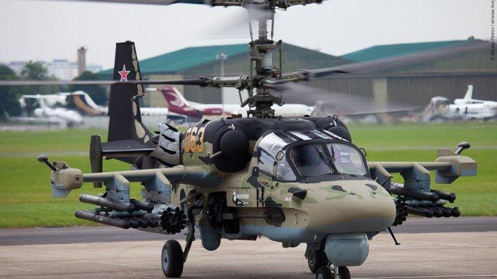 """Ударный вертолет Ка-52 «Аллигатор» (по классификации НАТО """"Hokum B"""")"""